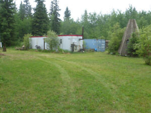 Land in Wandering River. 5 camping stalls zoned rural