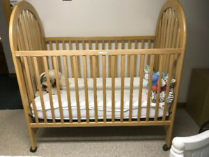 Beautiful solid wood crib for sale