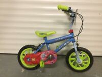 "Kids bike- toy story themed 12"" wheels"