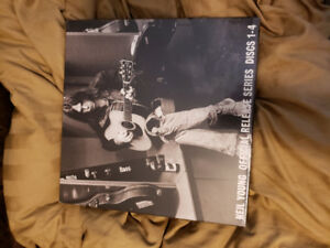 Neil Young 4 album set new still factory wrapped