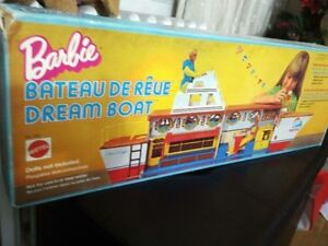Vintage Barbie Dream boat