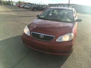2005 Toyota Corolla with very low km