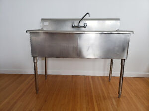 Commercial Heavy Duty Stainless Steel Sink