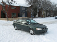2002 Toyota Corolla CE SedanFully safety, manual
