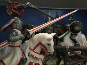 Schleich Tournament Knights Scenery Pack Toy Cambridge Kitchener Area image 3