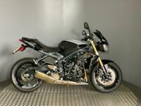 Triumph Street Triple 10 Year Anniversary No 50/50 2017 with 3002 miles