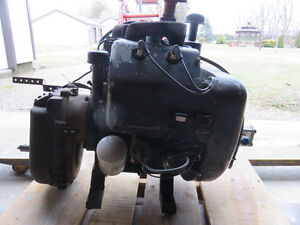 Wisconsin  VH4D Engine and transmis, southern piston pump, tires