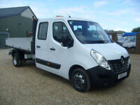 Renault Master 2.3dCi ( RWD ) Business GREW CAB TIPPER 125