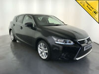 2014 64 LEXUS CT 200H LUXURY HYBRID AUTOMATIC 1 OWNER SERVICE HISTORY FINANCE PX