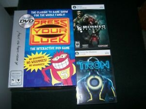 PRESS YOUR LUCK GAME & PC VIDEOGAMES    FOR SALE