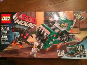 boîte de lego movie (trash chomper)