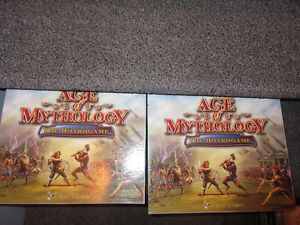 Age of mythology the boardgame