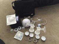 REDUCED Avent twin electric breast pump plus extras