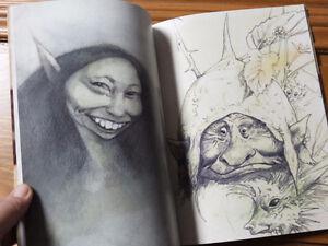 Secret Sketchbooks of Brian Froud - for the love of fae! Kingston Kingston Area image 4