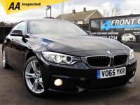 2015 BMW 4 SERIES 420D XDRIVE M SPORT GRAN COUPE MANUAL DIESEL COUPE DIESEL