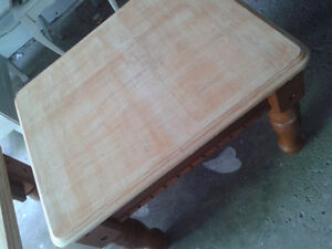 Coffee and end tables set   OAK wood  UNIQUE! Kitchener / Waterloo Kitchener Area image 2