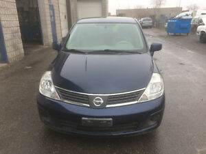 2007 Nissan Versa Hatchback Automatic Certified only 100600 km