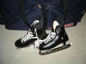 Older model men's hockey skates