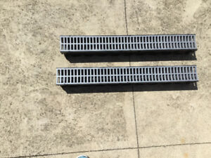Garage floor/ Storm Drain Channel