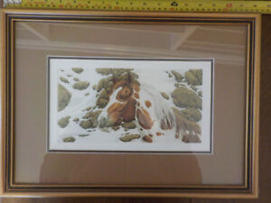 "6x Bev Doolittle prints. (11.5""x 6.5"") from the ""Hide and Seek"""