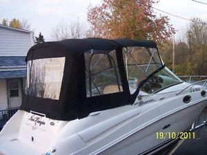Réparation de toile de bateaux