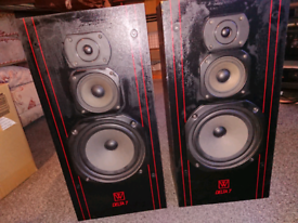 Wharfedale delta 7 speakers