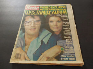 """The Star Oct 25.1977 ELVIS """"world exclusive family photos"""" London Ontario image 1"""