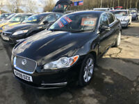 59 REG Jaguar XF 3.0TD V6 auto Luxury IN BLACK