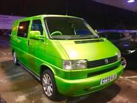 2003 Volkswagen TRANSPORTER T4 Day Van **Viper Green** Camper Motorhome 1 Owner
