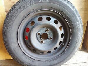 14 in. Summer All season Tires ON RIMS!!!