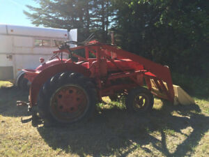1947 McCormic Deering with front end loader