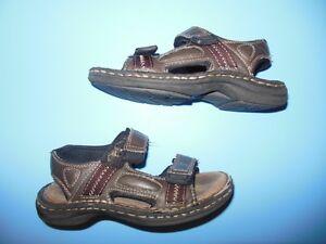 Boys Size 12 Leather Sandles Size 12 Belleville Belleville Area image 1