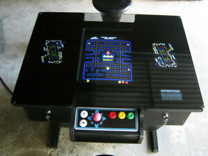 PLAYWELL ARCADE COCKTAIL TABLE CONSOLE MACHINE 2 YR WTY 60 games.
