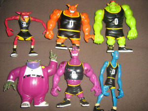 SPACE JAM MONSTARS COMPLETE FIGURE SET