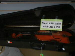 Stentor 4/4 Violin with hard case