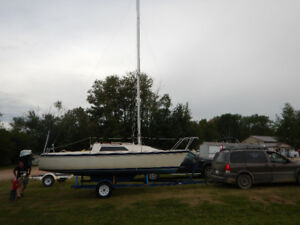 O' Day 222 sailboat 22 ft