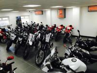 11 REG MOTO GUZZI NORGE GT 8V SPORTS TOURER IN WHITE RARE BIKE INDEED