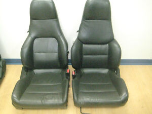 94 97 HONDA PRELUDE OEM LEATHER FRONT SEATS JDM PRELUDE