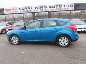 2012 Ford Focus CERTIFIED AND E TESTED LOW 104KM Hatchback