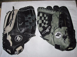 Worth leather baseball glove left handed thrower box 50