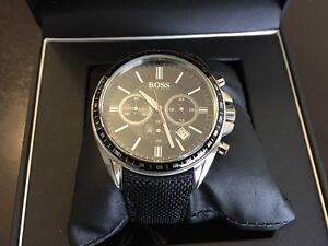 Beautiful BOSS Mens Chronograph Driver Sport  Watch