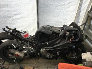 bmw s1000rr 2012 accidentée a vendre en pieces