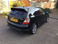 HONDA CIVIC TYPE R, GENUINE LOW MILEAGE, FULL SERVICE HISTORY, 11 MONTHS MOT