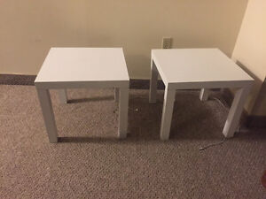 Two end tables - barely used!!!
