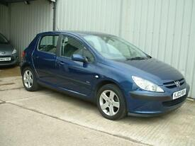 Peugeot 307 1.6 GLX, 5 Door Hatchback, Great car for under £1000