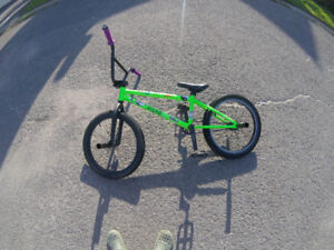 Hutch Web Bmx, 1 year old, decent condition.