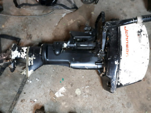 10 hp Johnson outboard