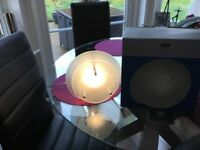 Next glass table lamp in box