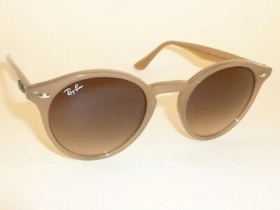 New Ray Ban Sunglasses Light Brown Frame  Rb 2180 6166 13  Gradient Brown Lenses