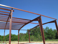 Steel Building Erection Services in Sarnia